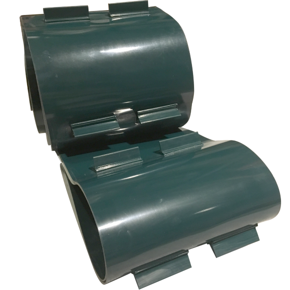 PVC Conveyor Belt with tall carriers
